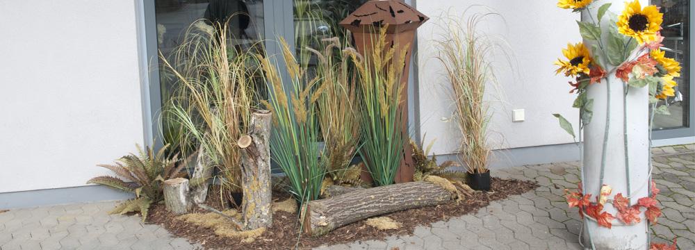 podzimní aranžmá umělých rostlin