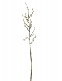 Dekorační větvička s korálky - zlatá, 85cm / 3ks