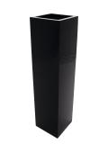 Květináč LEICHTSIN BOX-120, lesklý-černý
