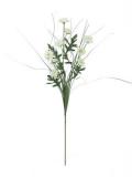 Větvička slaměnek bílá 50cm